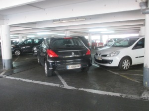 crazy parking in Toulouse
