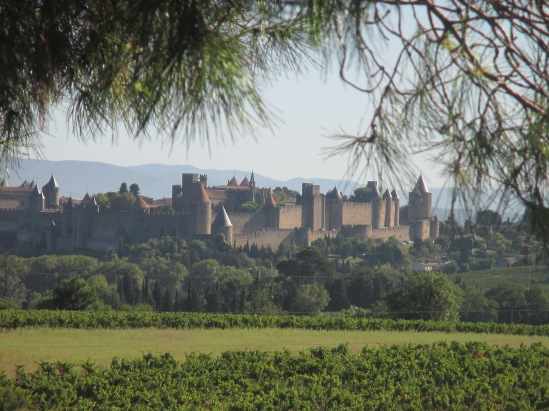 Carcassonne from afar